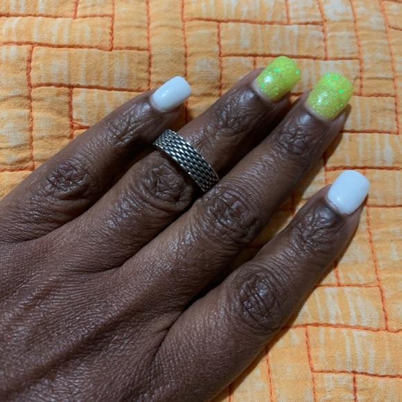 Tiffany & Co. Jewelry - Tiffany & Co. 'Somerset' Mesh Oxidized Ring